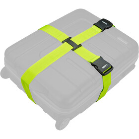 CAMPZ Crossed Luggage Strap applegreen